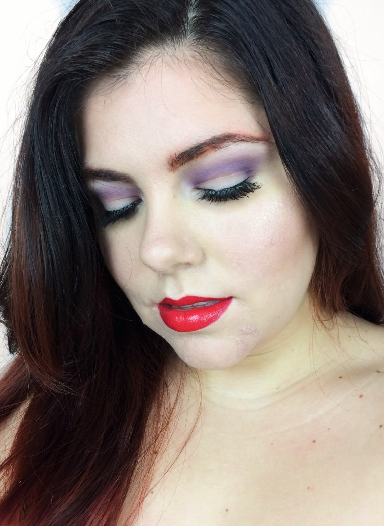 Jessica Rabbit Inspired Make Up Look [Click to Read More]