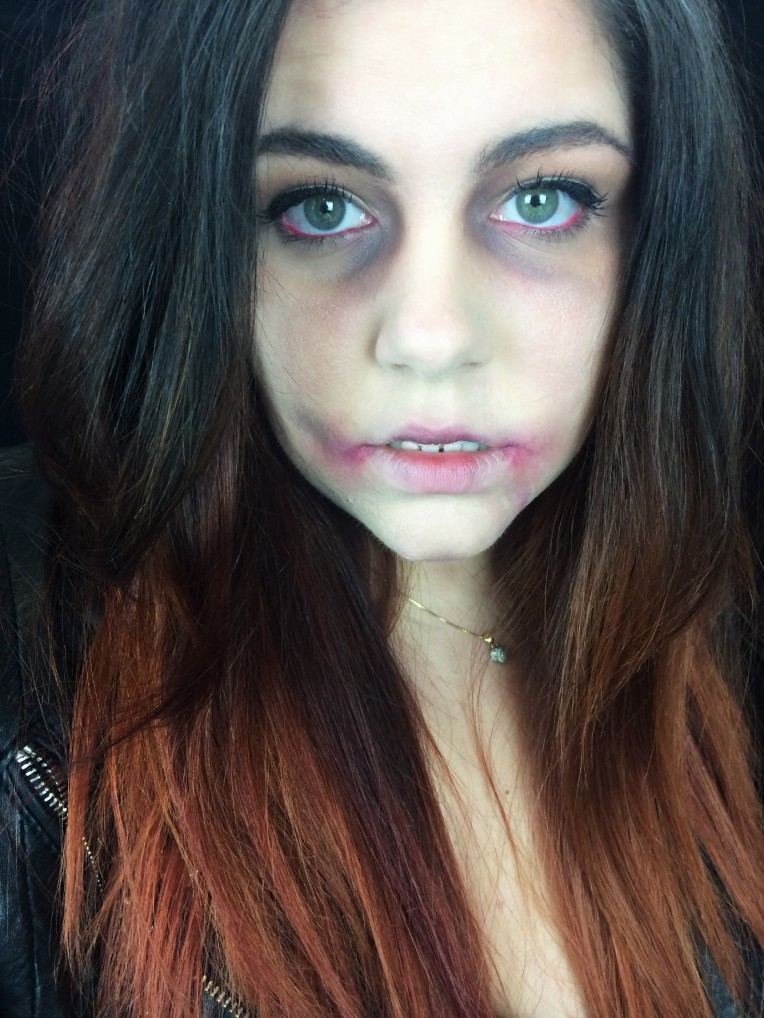 How To Look Dead Zombie Make Up [Click To See How I Got This Look]