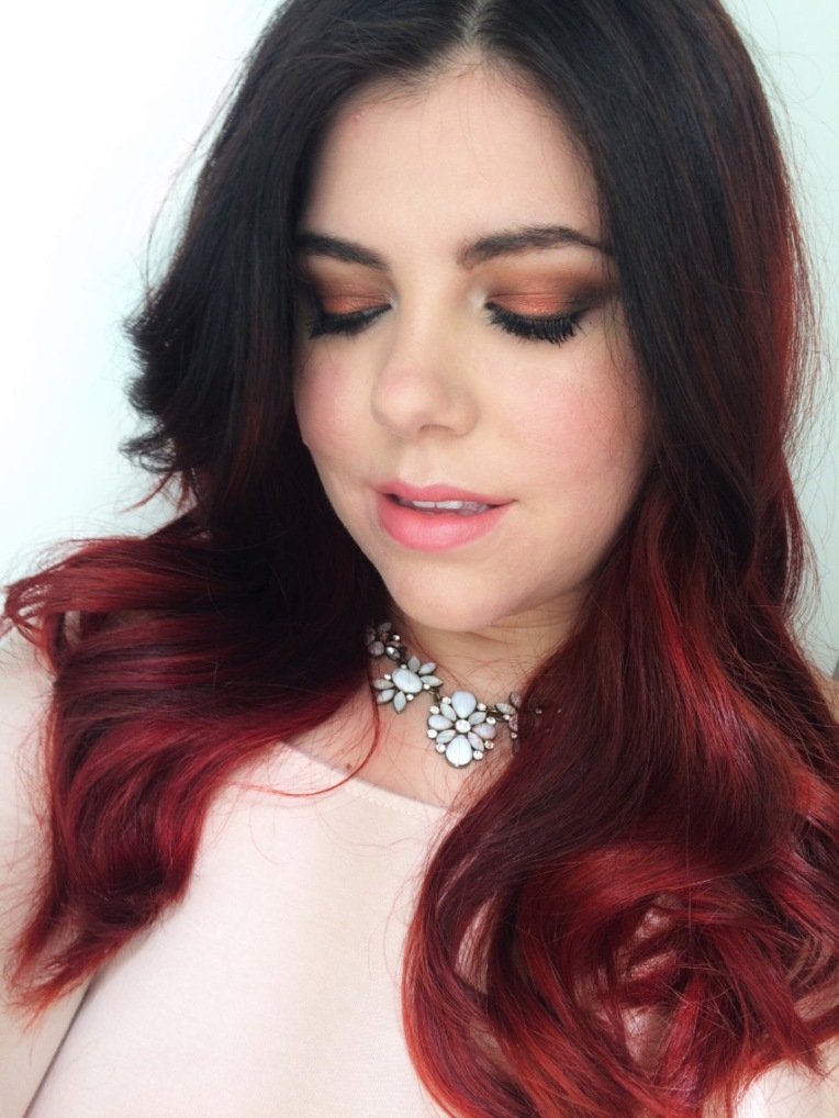 Sweater Weather Halo Warm Toned Smokey Eyes [Click To Read More]