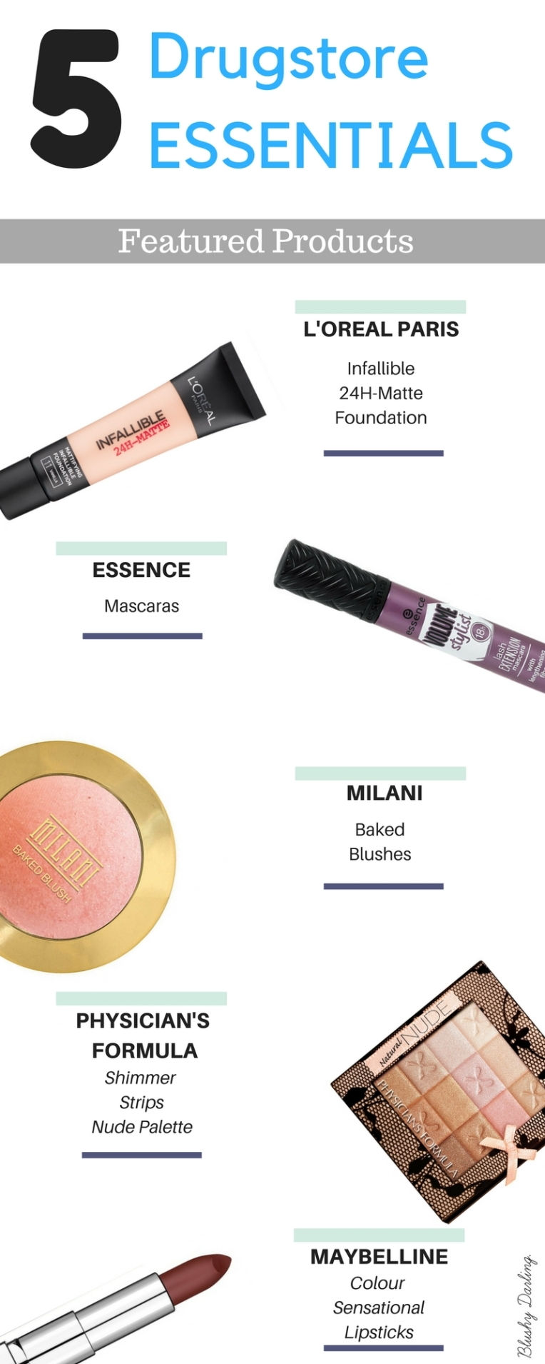 Hi, Darlings, this are all my drugstore favourite products, the ones that I feel like are essentials in everyone's kit. [Click to read more]